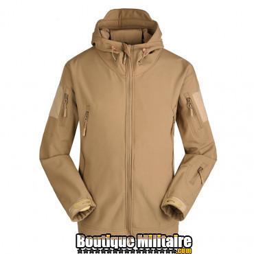 Blouson militaire Tacticale Imperméable • Camouflage Unie Beige