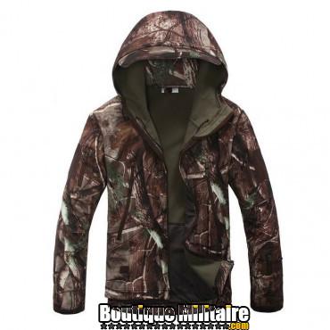 Blouson militaire Tacticale Imperméable • Camouflage CAMO forêt