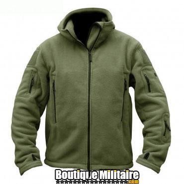 Blouson militaire Tacticale Imperméable • Unie Vert armée