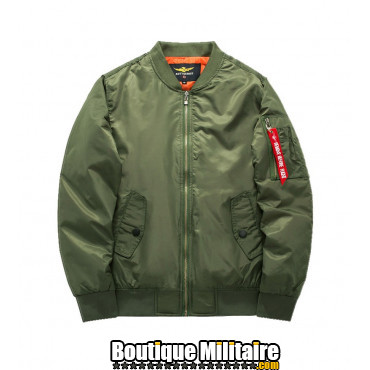 Bombers Aviateur Militaire • Unie Vert