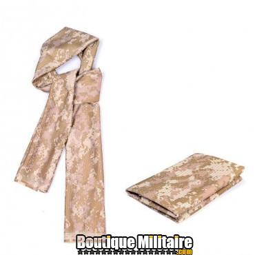 Écharpe militaire • 80x110cm CAMO Désert