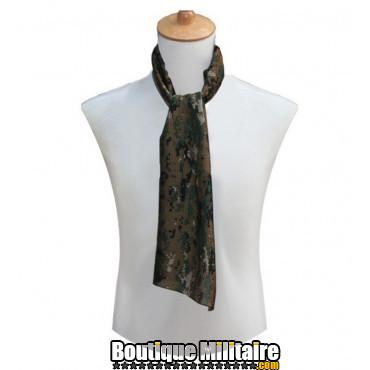 Écharpe militaire • 80x110cm CAMO forêt Digitale