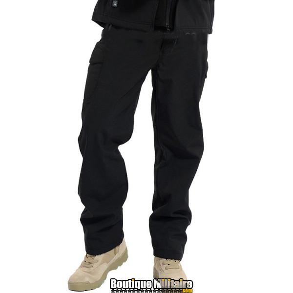 Pantalons Tactique Militaire Coupe-vent Imperméable • Unie Noir