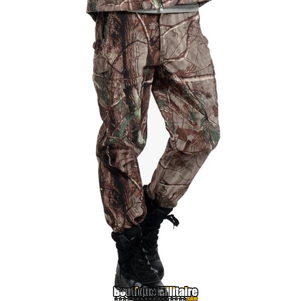 Pantalon Tactique Militaire Coupe-vent Imperméable • Camo Arbre