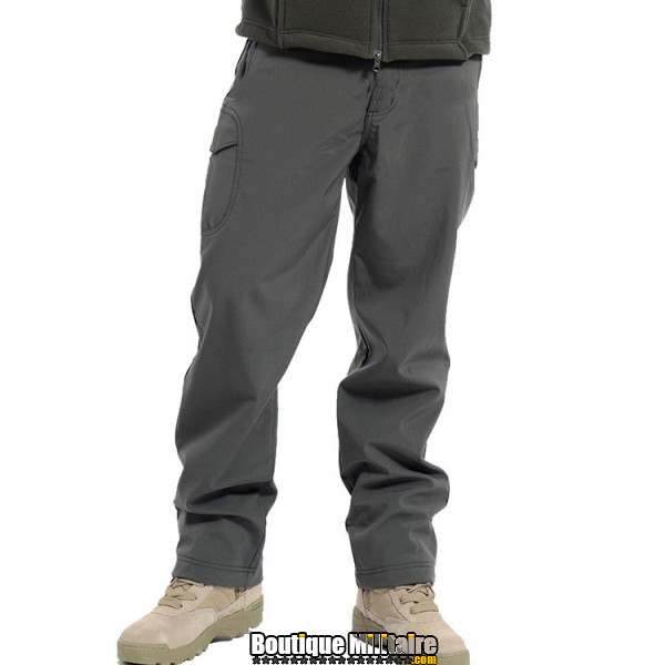 Pantalons Tactique Militaire Coupe-vent Imperméable • Unie Gris