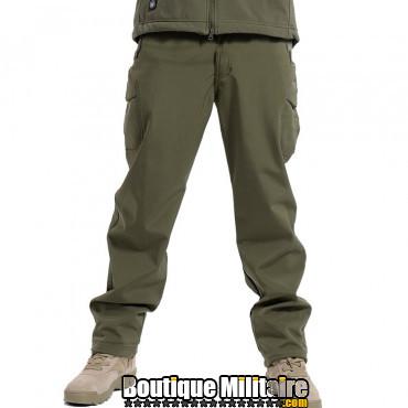 Pantalons Tactique Militaire Coupe-vent Imperméable • Unie Vert Armée