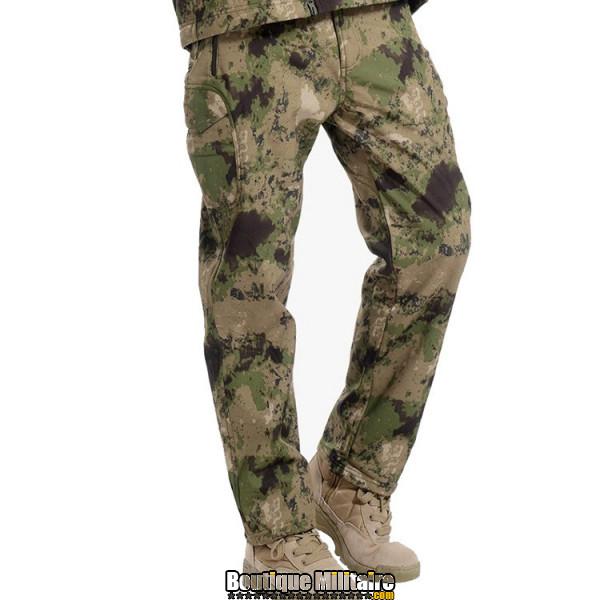 Pantalon Tactique Militaire Coupe-vent Imperméable • Camo Vert
