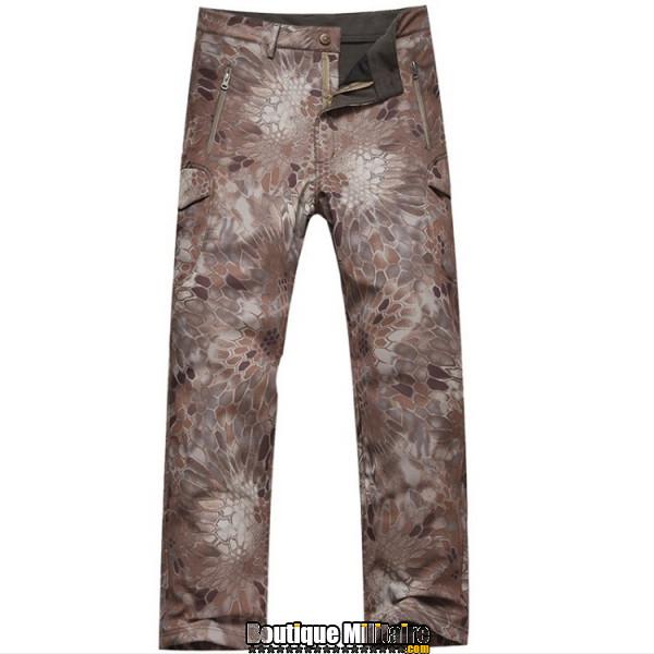 Pantalons Tactique Militaire Coupe-vent Imperméable • CAMO Reptile Kaki