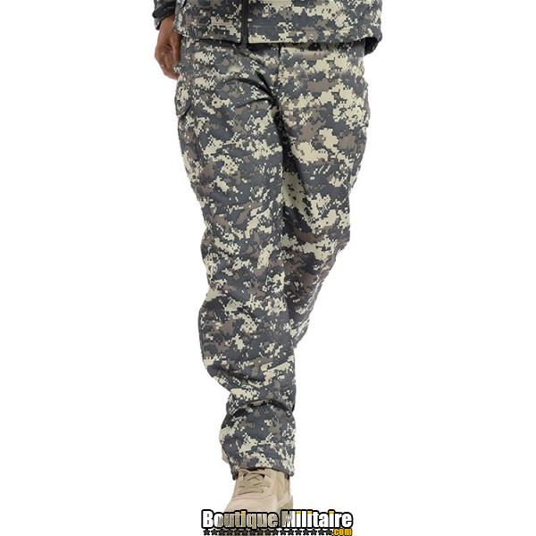 Pantalon Tactique Militaire Coupe-vent Imperméable • Camo Acu