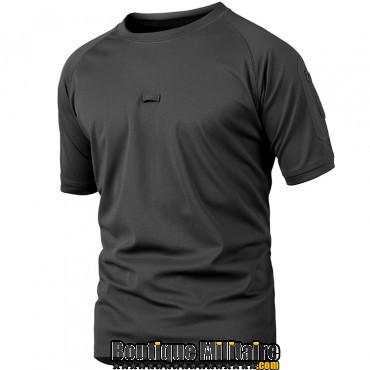 T-shirt militaire • Unie Noir