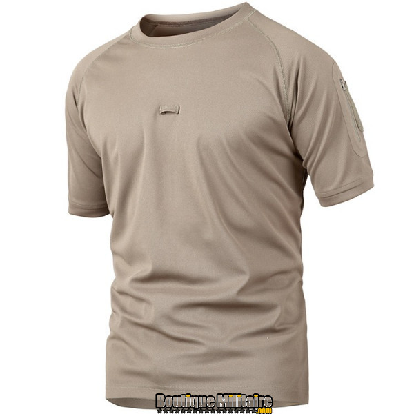 T-shirt militaire • Unie Kaki