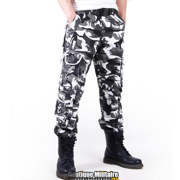 Camouflage Cargo Camo Coton Militaire Pantalon Achat Treillis Ctw1qx