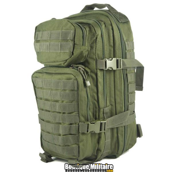 Sac à Dos Militaire Miltec • 50 Litres Vert Armée