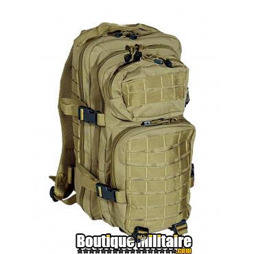 Sac à Dos Militaire Miltec • 50 Litres Unie Sable
