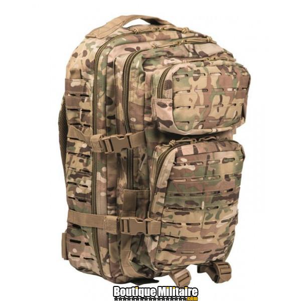 Sac à Dos Militaire Miltec • 50 Litres Multicam