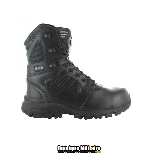 Chaussures de Sécurité Magnum Coquée Non Magnétique Noir • Certifié EN ISO 20345 : 2011 SB E FO SRA