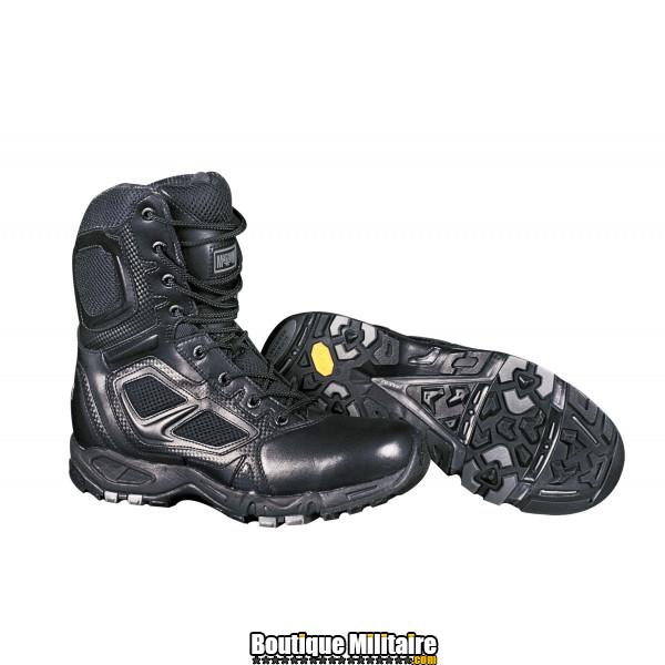 Chaussures Rangers d'Intervention Magnum Elite Spider 8 ZIP Noir