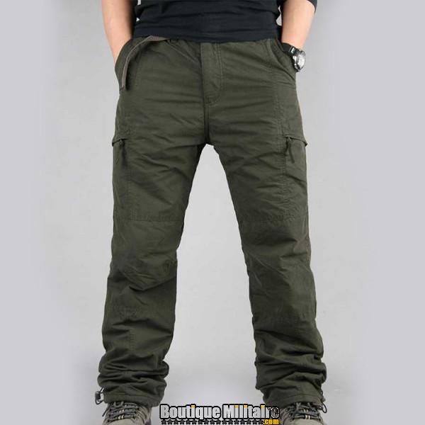 Pantalon Treillis Urbain • Unie Vert Armée