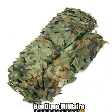 Filet De Camouflage Militaire • 4x2 Mètres • Camo Forêt