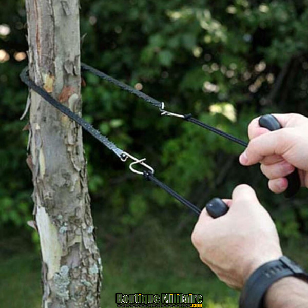 Scie de poche à main souple • 48 cm • Noir