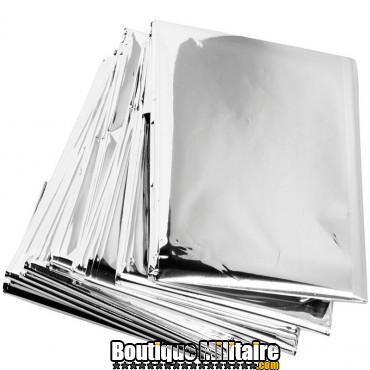 Lot 10 couvertures thermique de survie • 210x130 cm