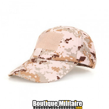 Casquette militaire • Camo Désert Digital