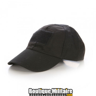 Casquette militaire • Noir Uni