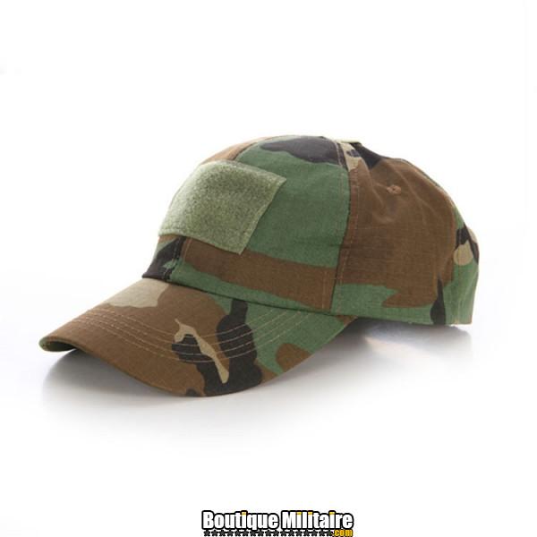 Casquette militaire • Camo forêt