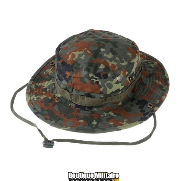 Chapeau militaire • Camo forêt Digital