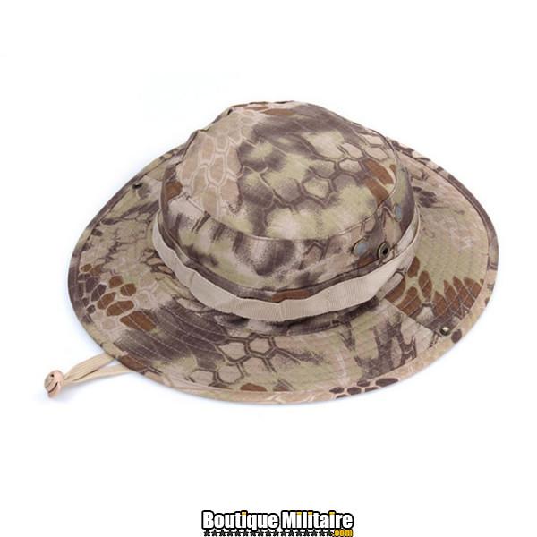 Chapeau militaire • Camo Serpent Désert