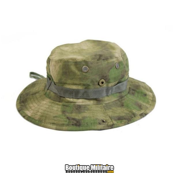 Chapeau militaire • Camo Forêt Vert Clair