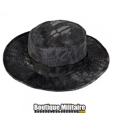 Chapeau militaire • Camo Serpent Noir