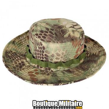 Chapeau militaire • Camo Serpent Vert