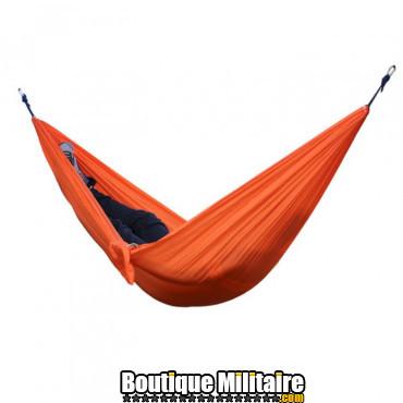 Hamac en toile de parachute 210T • 2 personnes • 270x140 cm • Orange