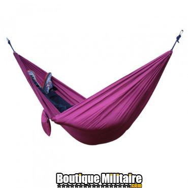 Hamac en toile de parachute 210T • 2 personnes • 270x140 cm • Violet Uni