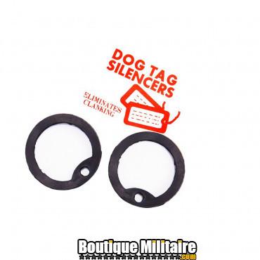 Dog tag silencieux