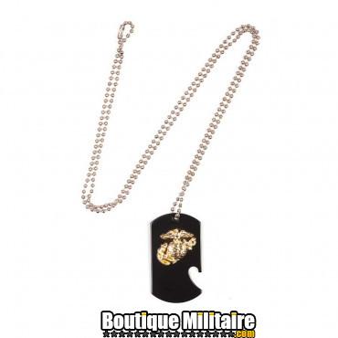 Plaque militaire - US Marines, avec décapsuleur