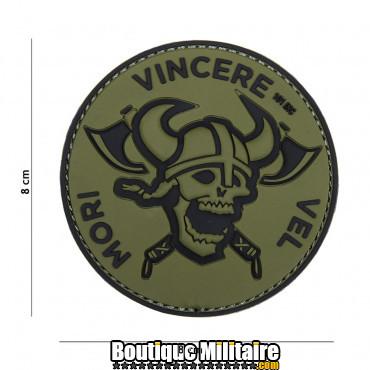 Patch 3D PVC Mori Vincere Vel vert 18088