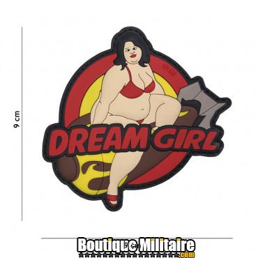 Patch 3D PVC Dream girl 17031