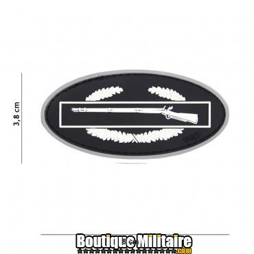Patch 3D PVC Infantry gris 17037