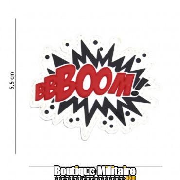 Patch 3D PVC BOOM! rouge 18029