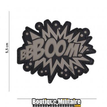 Patch 3D PVC BOOM! gris 18030