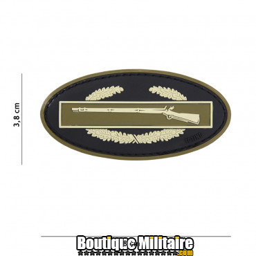 Patch 3D PVC Infantry coyote 17038