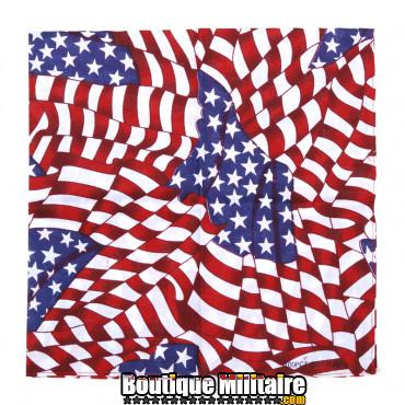 Bandana Drapeaux USA mélangés