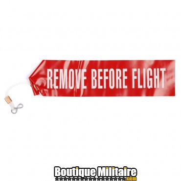 Ruban séc Remove before Flight