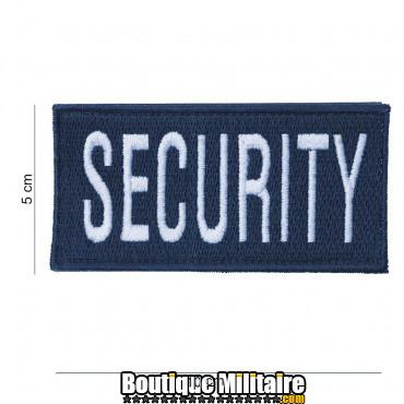 Patch - security - large bleu 2022
