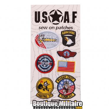 Carte de patchs USAF