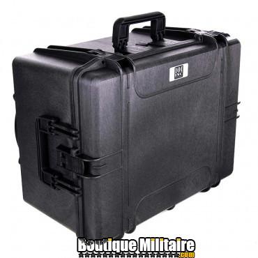 Caissse en plastique à roulettes, étanche et hermétique - IP67 MAX620 - made in Italy