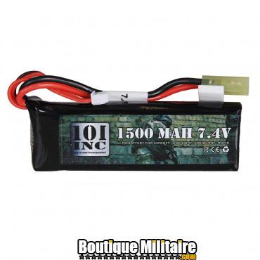 Batterie - Li-Po . 7.4V -1500 mAh