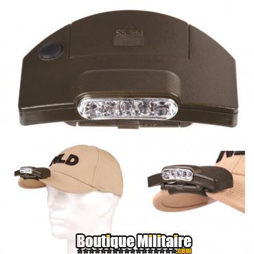 Lampe de casquette 5 led